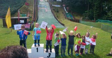 Grundschulwettbewerb Skispringen & MiniSkifliegen in Scheibenberg