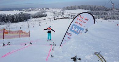 Regionalentscheid Grundschulwettkampf Skispringen in Winterberg
