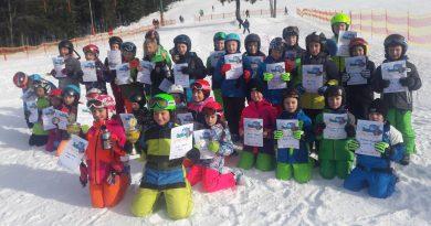 Grundschulwettbewerb Skispringen in Baiersbronn