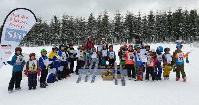 Landesfinale Grundschulwettbewerb Skispringen in NRW